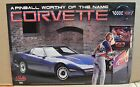BALLY 1994 CORVETTE ORIGINAL PROMOTIONAL PINBALL POSTER
