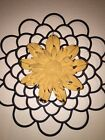Sunflower Country Home Hanging 17 Wall Art Decoration Metal Garden Rustic