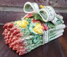 Fitz and Floyd 1996 Classics Herb Garden Covered Asparagus Dish