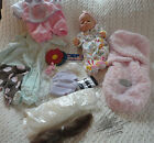 Lot of reborn doll making supplies berjusa doll mohair needles ++ more items