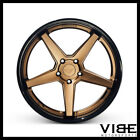 20 FERRADA FR3 BRONZE CONCAVE WHEELS RIMS FITS INFINITI G37 SEDAN
