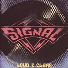 Signal Loud & Clear CD Slip Cover AOR Melodic Rock Mark Free