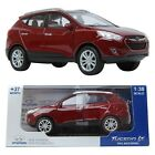 Pino B&d HYUNDAI Tucson ix RED 1:38 Display model car motor sports Miniature