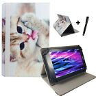 7 zoll Motiv Tablet Tasche Hülle Etui - Allview Wi7 Android - Katze 2 7