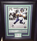 Seahawks Russell Wilson Engraved Autograph Signature 8x10 Framed Photo Collage
