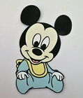 Baby Mickey Mouse Die Cut Paper Piecing Scrapbook Embellishment