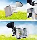 360 Rotating Bed Desktop Car Stand Mount Holder For iPhone Cell Phone GPS a02