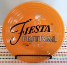 Fiesta Festival 2016 Tangerine Lunch Plate Fiestaware Orange Luncheon - NEW