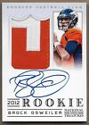 2012 Panini National Treasures Football Rookie Signature Materials Guide 38