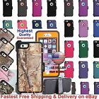 Apple iPhone 7  7 Plus Rugged Case w Belt Clip Holster fits Otterbox Defender