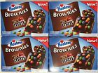 4x 258g BOXES OF HOSTESS (MAKERS OF TWINKIES) CHOCOLATE BROWNIES MILK CHOC M