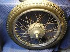 1973-74 Suzuki TS 185 front wheel good chrome