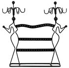 NEW Jewelry Holder Organizer Display Stand Metal Hanging Necklace Earring Rack