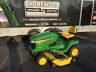 John Deere X360 Lawn Tractor with 54 inch deck  44 Front Blade