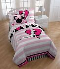 Disney Minnie Mouse Hearts Twin Size Sheet Set