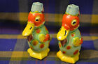 Vintage Japan Ducks Handpainted Anthropomorphic Salt and Pepper Shakers Wildlife