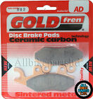 Honda CA 125 Rebel Front Sintered Brake Pads (1995) Goldfren