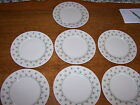 Vtg lot of 7 Fitz & Floyd Chantilly 1981 dessert bread & butter appetizer plate