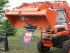 Quick Spade Combo Skid Steer Tractor Trencher Loader Bucket Fork Attachment