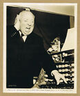 The Birds 63 Director Alfred Hitchcock Candid Original Photo