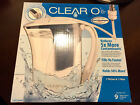 Clear2o 72oz Water Filtration Pitcher With Filter CWS100AW
