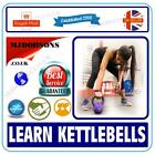 KETTLEBELL TRAINING EXERCISES WORKOUT PROGRAM MEN AND WOMEN 5 DVDs MD257LEARN