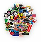 Awesome Laptops Stickers Pack Of 100pcs Vinyl Graffiti Decals Best Quality For