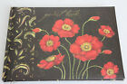Lang Guest Book Susan Winget Poppies 2007 40 pages New 9 1/2