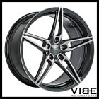 19 ACE AFF01 FLOW FORM GREY CONCAVE WHEELS RIMS FITS LEXUS GS300 GS400 GS430