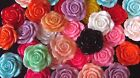 42 mm 5 10pc Large Flower Rose Resin Bows Headband Hair Bow Center Cabochon