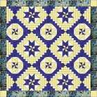 Easy Quilt Kit/Courthouse Medallions/Pre-cut Fabric Ready To Sew/French Country