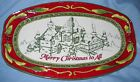 Fitz and Floyd St. Nick Sentiment Tray