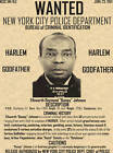 BUMPY JOHNSON WANTED POSTER GANGSTER MOB FBI
