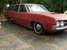 1971 Ford Torino WAGON 1971 FORD TORINO STATION WAGON V8GREAT PATINALOWEREDNEW INTERIORNEW WHEELS