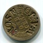 USA  1860's Small Cent Counter Stamped - W.A. Johnson