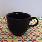 Fiestaware Black Teacup Fiesta Retired Tea CUP ONLY