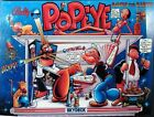 POPEYE Pinball Cabinet Light Mod BLUE