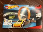 NEW Hot Wheels Track Builder Super 6 in 1 Race Track Set Xmas Gift 2 DAY GET