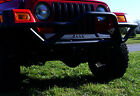Bumper-RRC Front with Grille Guard Black Outland fits 1987 Jeep Wrangler