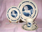 Tienshan Fantasy 5 pc Unicorn Stoneware Dinner Set for one, Includes Bowl