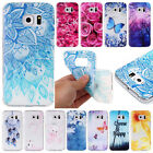 Cute Soft TPU Rubber Slim Shock Proof Back Case Cover For Samsung Galaxy Phone