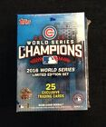 2016 Chicago Cubs Topps World Series Limited Team Box Set 25 Exclusive Cards