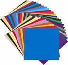 35 Pack 6x12 Self Adhesive Vinyl Sheets Permanent for Cricut Silhouette Cameo