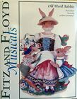 FITZ AND FLOYD MUSICALS FigurIne Old World Rabbits 2003 Original Packaging
