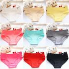 New Beauty Soft Lady Underwear Girls Woman Cotton Briefs Panties Knickers EA