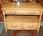 1960's Union National Tea Cart Buffet, Solid Wood Beautiful Rare item.