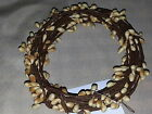 Vanilla Cream Pip Berry Garland, 18ft, Single-ply, Primitive, Country, Crafting