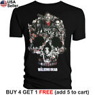 The Walking Dead T Shirt Negan Lucille Saviors AMC TWD Glenn Rick Daryl Michonne