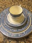 Noritake Randolph 6 Place Setting Dinner Plate Cup Saucer Dish Bone China 9721