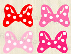 12 40 Poka Dot Bow 01 Die Cut Embellishment Layered Paper Piecing Party Minnie